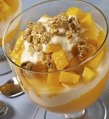 Mango Yogurt Parfaits