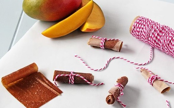 Mango Fruit Roll Ups