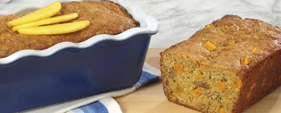 Loaf of Mango Bread