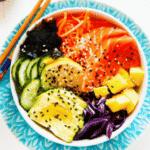Easy Sushi Bowls with Mango