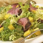 Lamb, Lime and Mango Salad