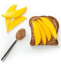 Mango & Almond Butter Toast