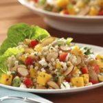 Mango and Almond Couscous Salad