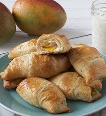 Mango and Cream Cheese Crescent Rolls