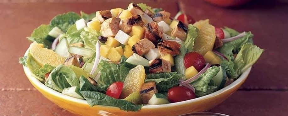 Mango Chicken Chop Salad