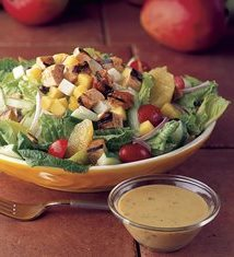Mango Chicken Chop Salad