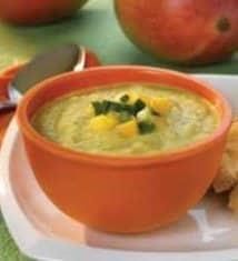 Mango Cucumber Soup