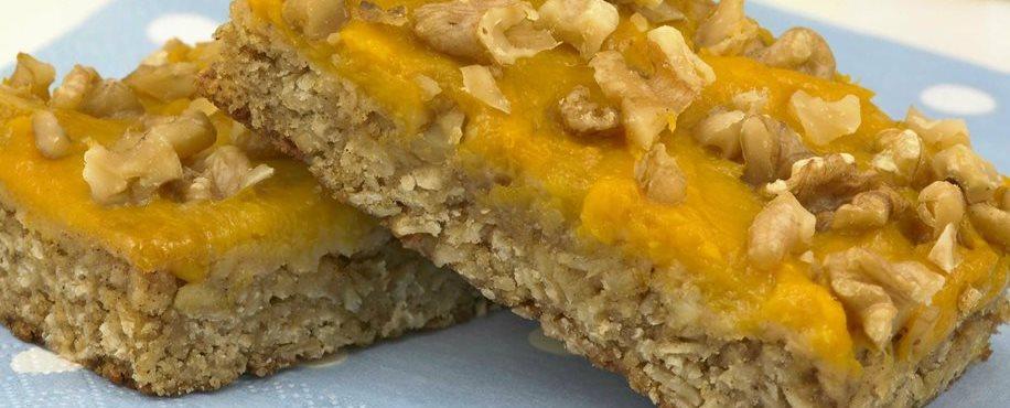 Mango Oat Breakfast Bars