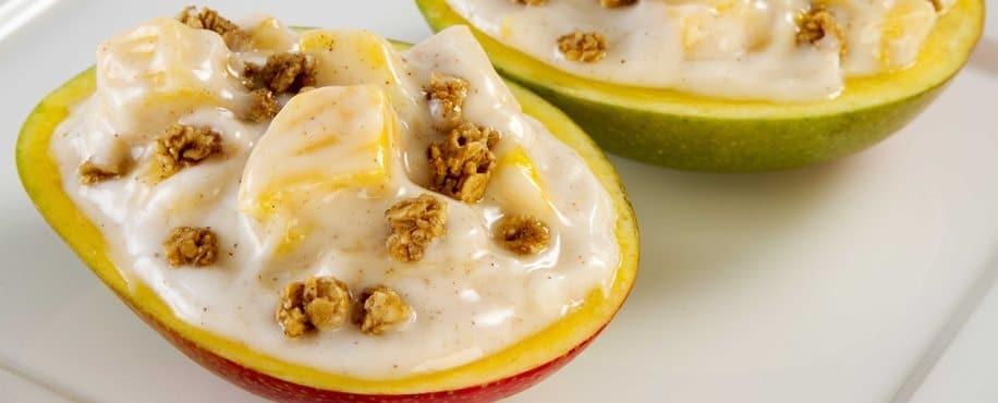 Mango Yogurt and Granola Bowl