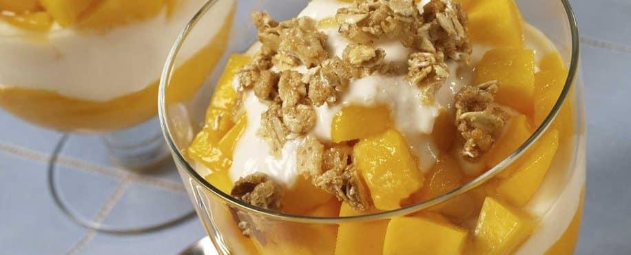 Mango Yogurt Parfaits