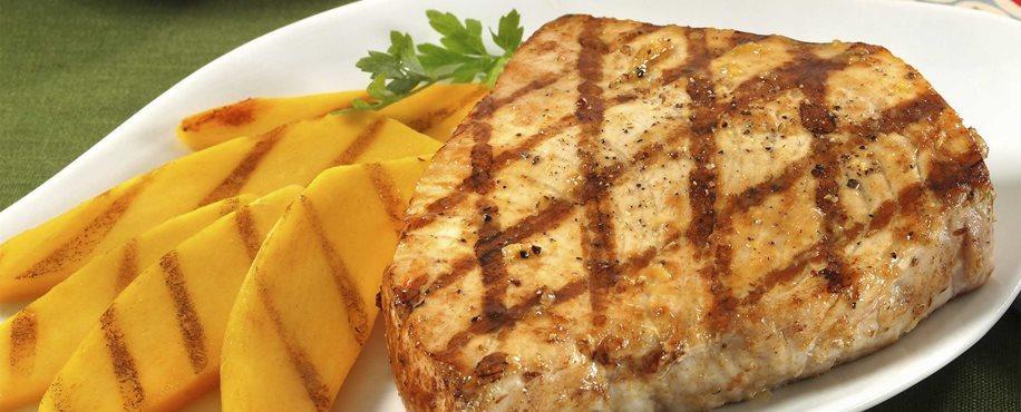 Mango-Lime Grilled Swordfish
