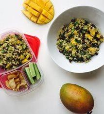 Vegan Mango Quinoa Salad