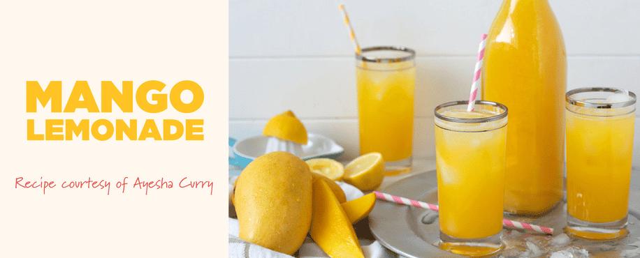 Ayesha Curry's Mango Lemonade