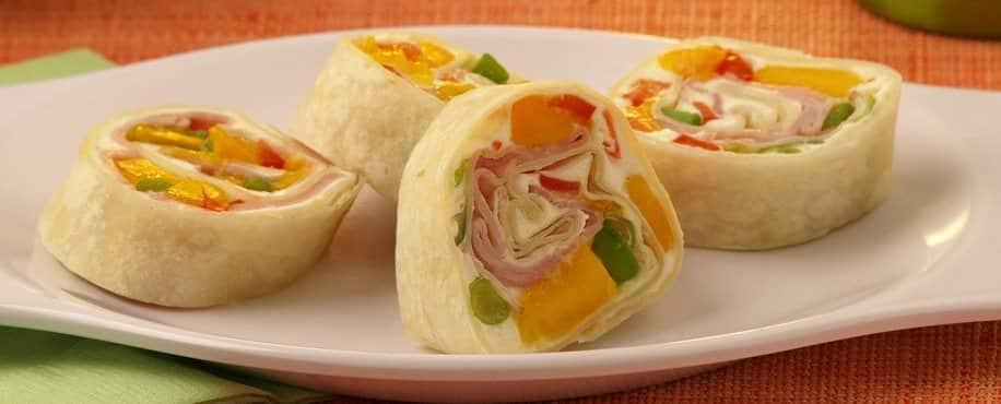 Sweet and Savory Mango Roll Ups