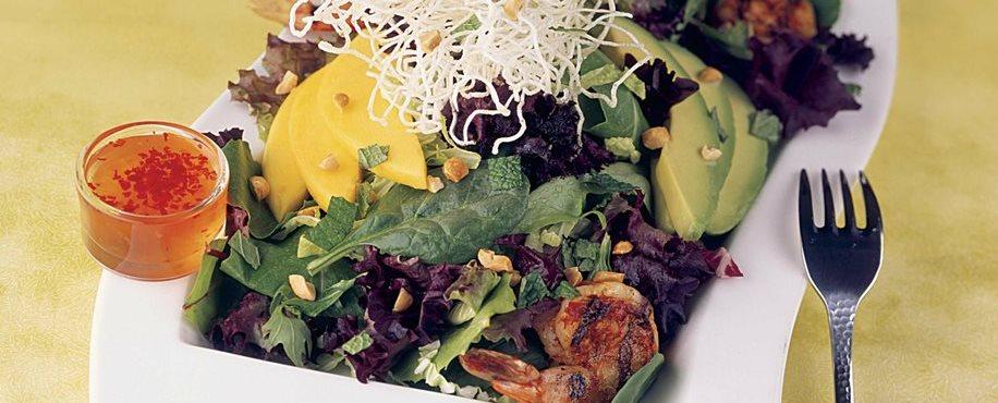 Thai Shrimp and Avocado Salad