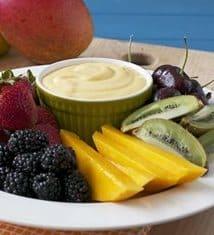 Vanilla-Mango Fruit Dip