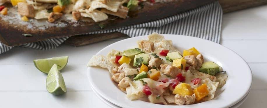 Chicken Mango Nachos
