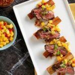 Bevette Steak Yucca Mango Chimichurri