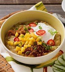 Fresh Mango Oatmeal Congee