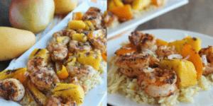 Mango Shrimp and Rice