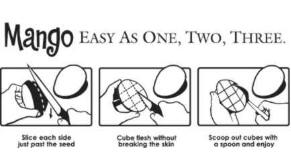 Tan fácil como 1, 2, 3, Horizontal en blanco y negro