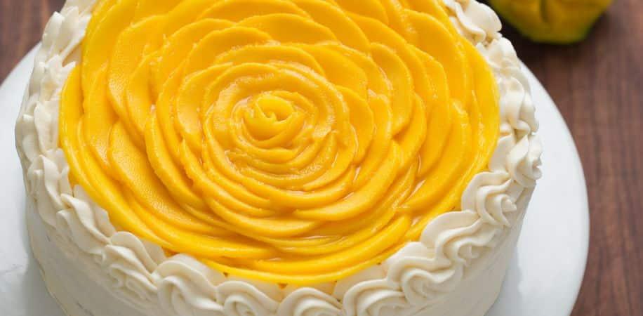 Fresh Mango Cake Recipe