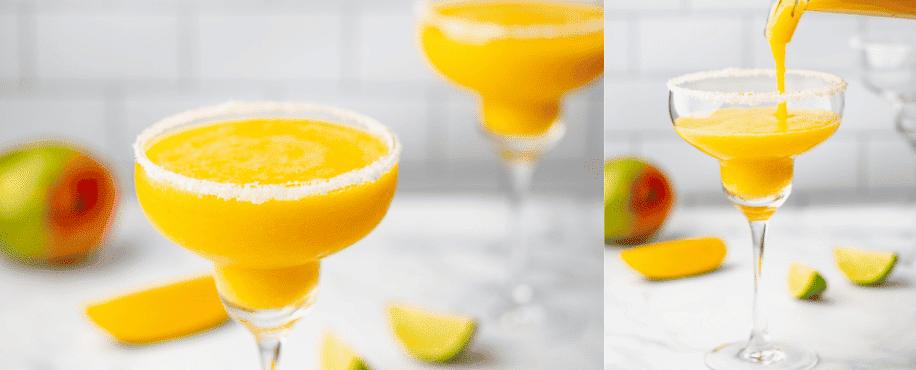 5 ingredient Mango Margarita