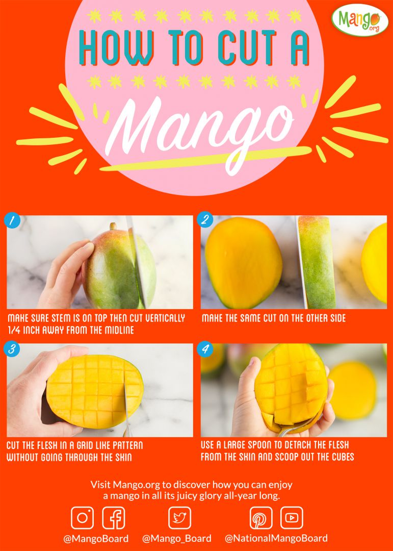 how to cut a mango national mango board