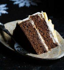 Mango Gluten Free Gingerbread Cake