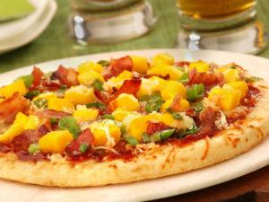Mango Bacon BBQ Pizza