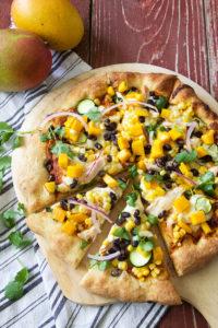 Southwest Mango Pizza