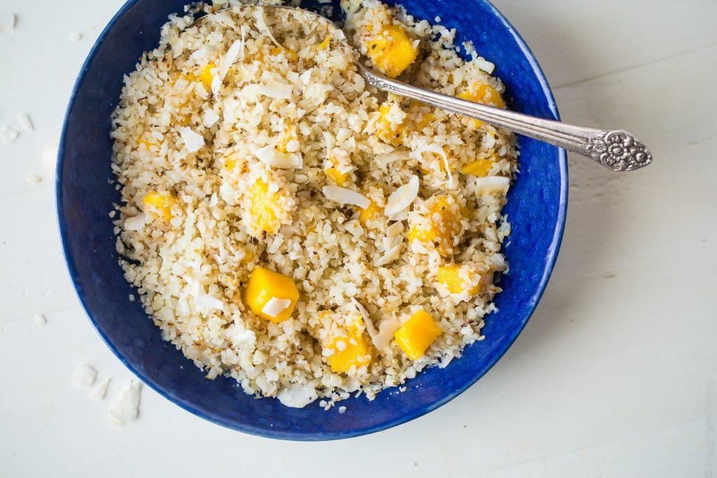Mango Cauliflower Rice