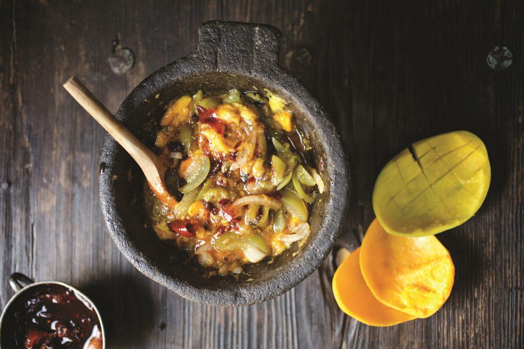 Mango, Tomatillo and Chipotle Salsa
