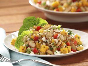 Almond Mango Couscous Salad