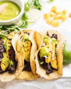 Grilled Mango Tacos