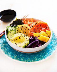 Mango Sushi Bowl