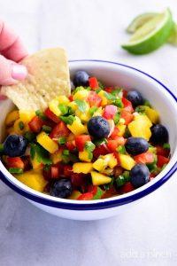 Mango Blueberry Salsa