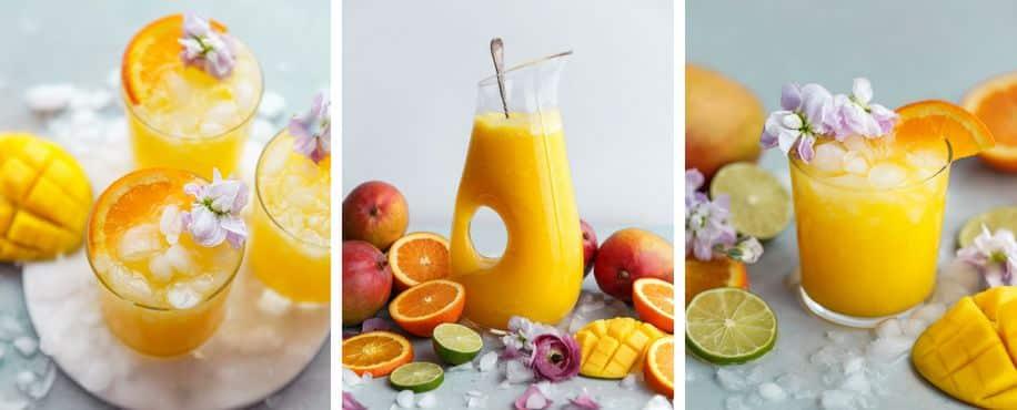 Mango Citrus Fruit Punch