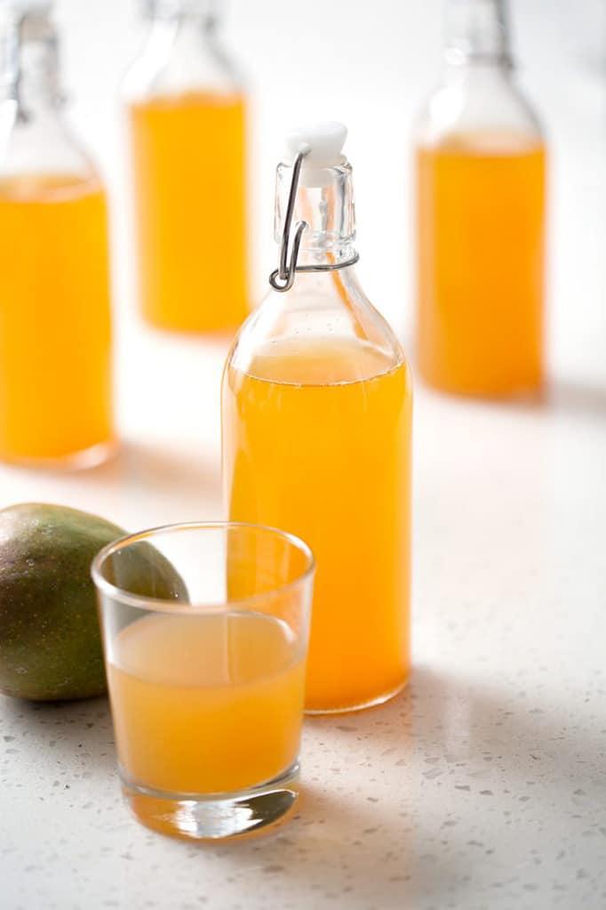 Mango Juice in Jars