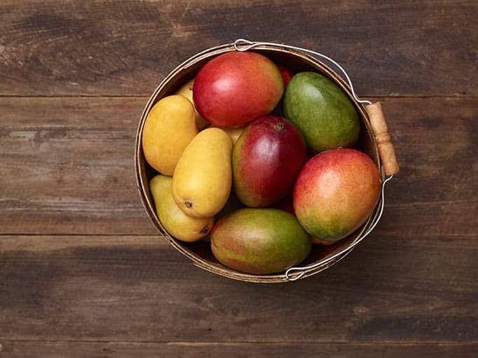 Basket of Mangos