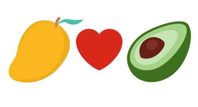 It's National Avocado Day! Mango + Avocado = Love 1