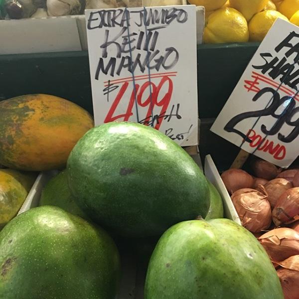 Keitt Mangos