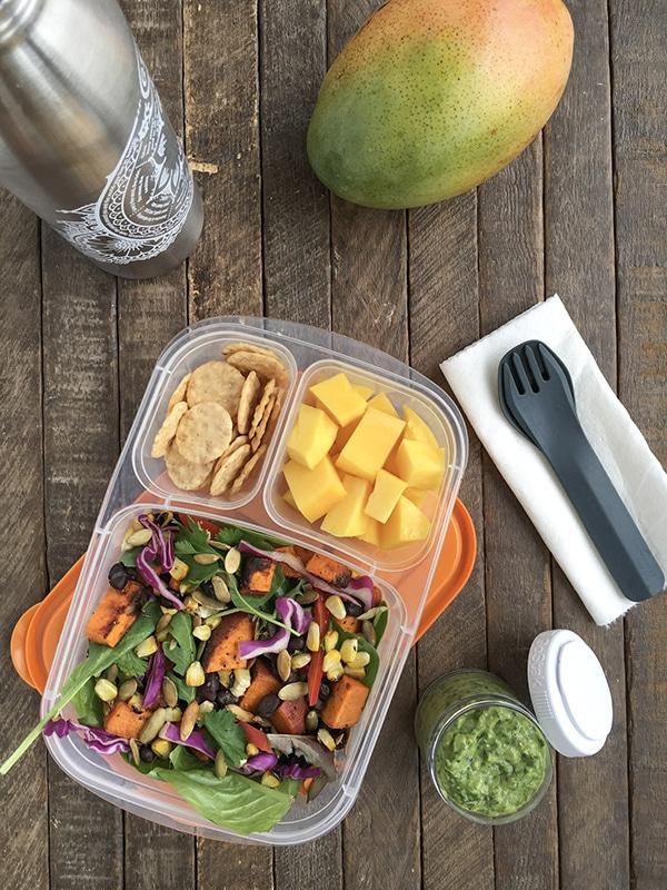 Mango and Sweet Potato Mango Meal Prep