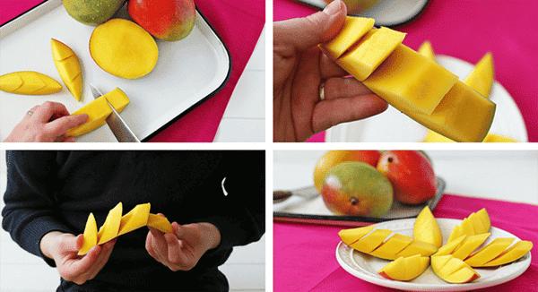 Sliced Mango Spears