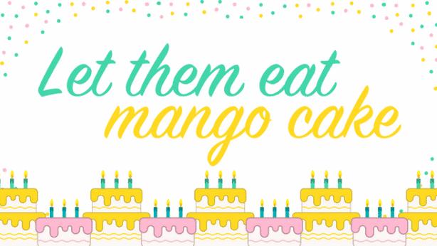 Mango Cake 1