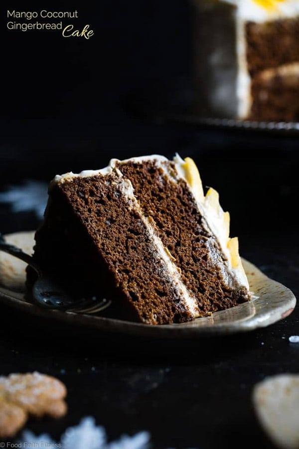 Celiac Disease Awareness Month - Gluten-free Mango Gingerbread Cake