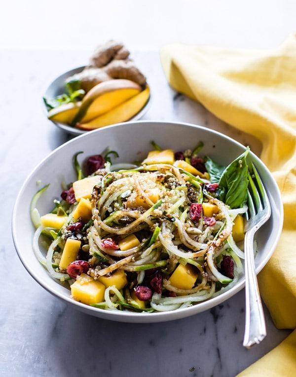 Celiac Disease Awareness Month - Cucumber Mango Salad
