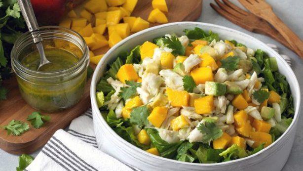 Mango Crab Avocado Salad