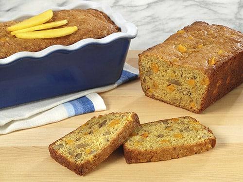 Thanksgiving Recipes - Mango Bread