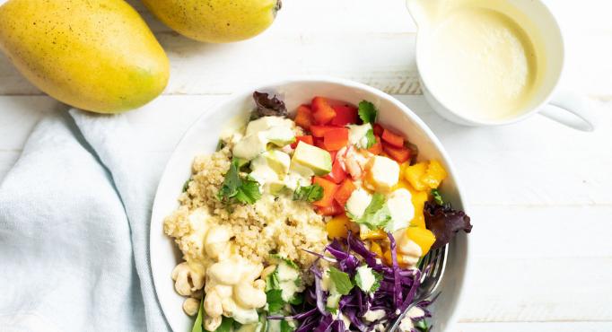 Tropical Mango Bowls Dish